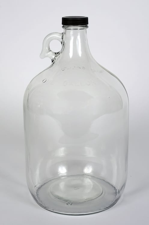 1 Gallon Flint Glass Jug 38-405 mm Finish