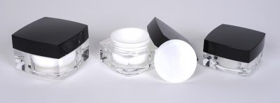 Square Acrylic Jars