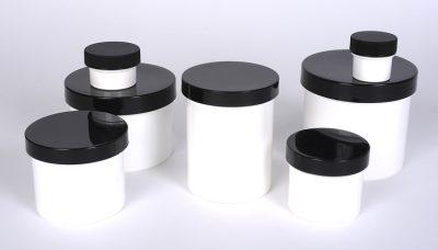 Plastic Polypropylene Single Wall Jars