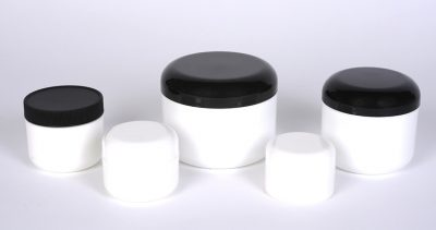 Plastic Double Wall Jars