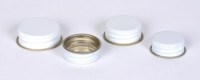 Metal Caps With Pulp-Aluminum Liners