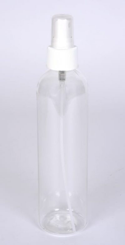 16 oz. PET CLEAR Cosmo Round w/24-410 Finish