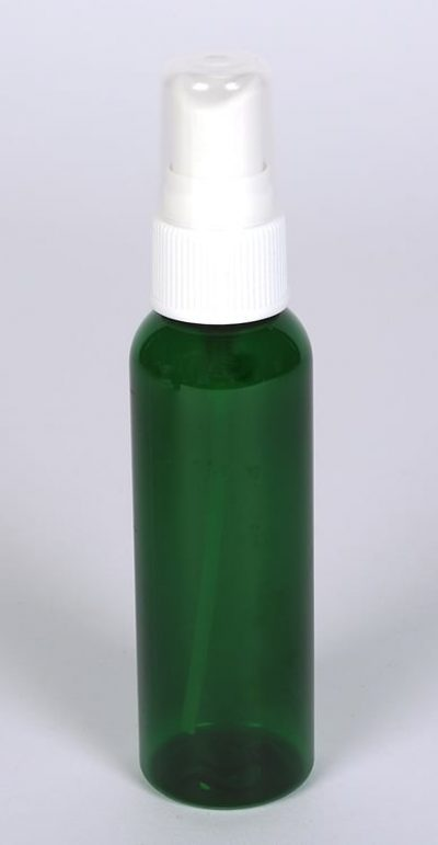 2 oz Green PET Plastic Bullet Bottle