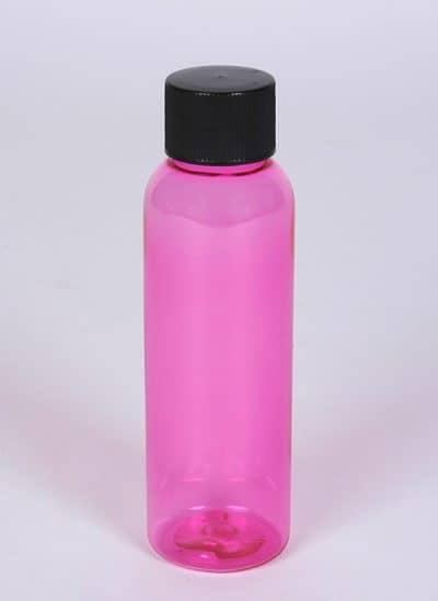 Wholesale Bottles 2 oz Pink PET Bullet Bottle