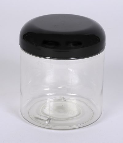 8 oz. CLEAR PET Straight Sided Jar w/ 70-400 Finish