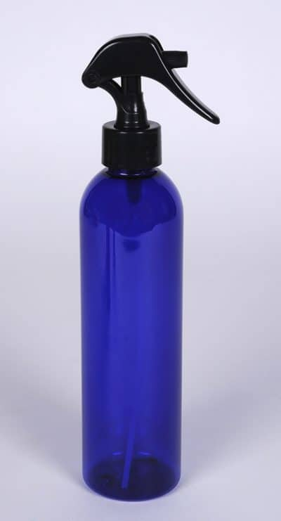 8 oz Cobalt Blue PET Bullet w/ 24-410 FInish